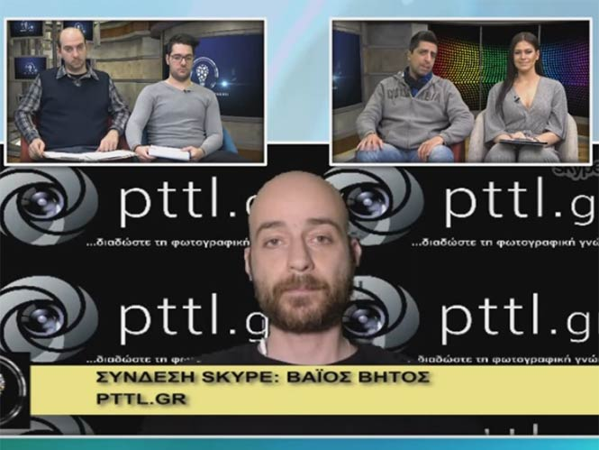 To pttlgr στην εκπομπή «Η τεχνολογία μας ενώνει» 24.3.2016