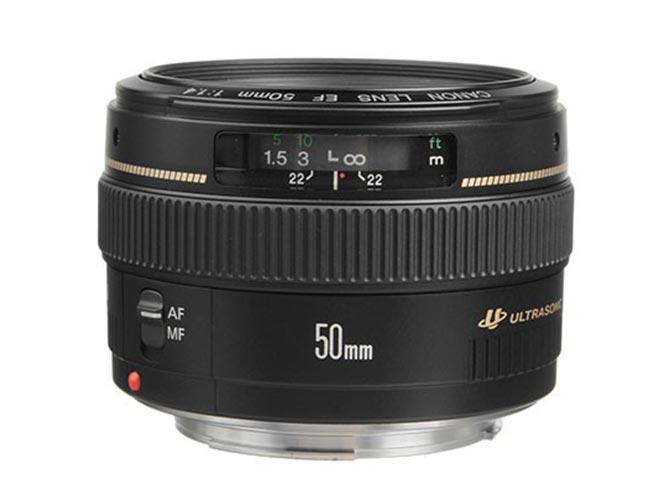 Έρχεται η νέα έκδοση του Canon EF 50mm f/1.4;