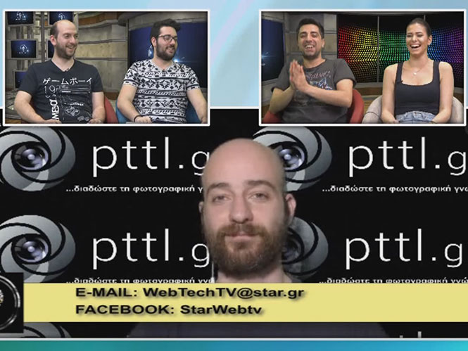 To pttlgr στην εκπομπή «Η τεχνολογία μας ενώνει» 14.4.2016