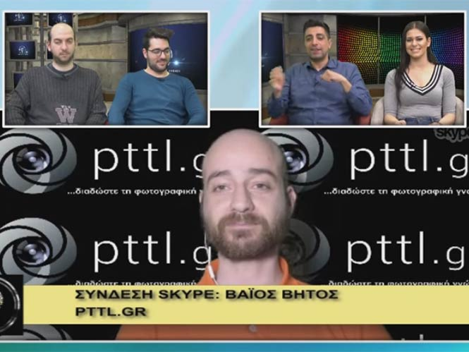 To pttlgr στην εκπομπή «Η τεχνολογία μας ενώνει» 31.3.2016