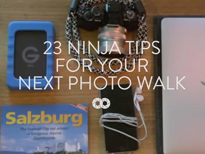 Δείτε σε ένα video 23 συμβουλές για να κάνετε ξεχωριστές φωτογραφίες δρόμου
