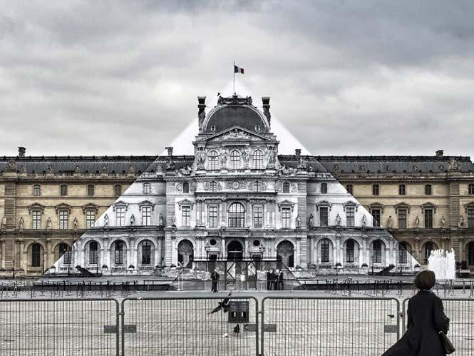 Φωτογράφος εξαφάνισε την πυραμίδα του Λούβρου