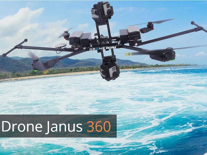 Janus 360, το πρώτο drone ειδικά για λήψεις 360 μοιρών