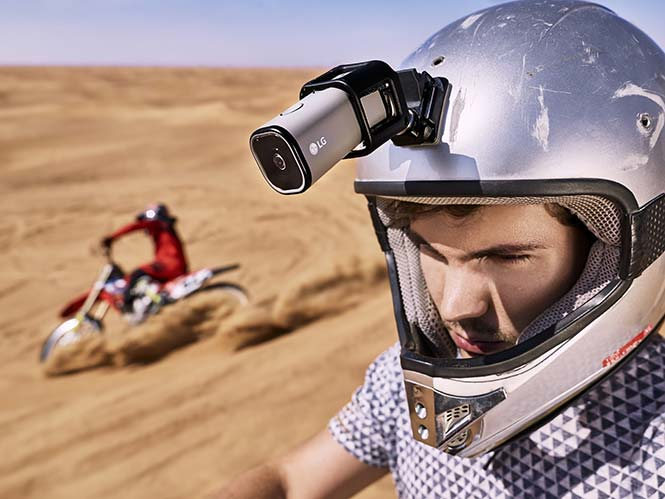 LG Action Cam LTE, αυτή είναι η νέα action camera της LG με 4K video