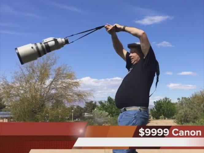 LensFlipper: Περιστρέφοντας ένα φακό 10.000 δολαρίων πάνω από το κεφάλι σου