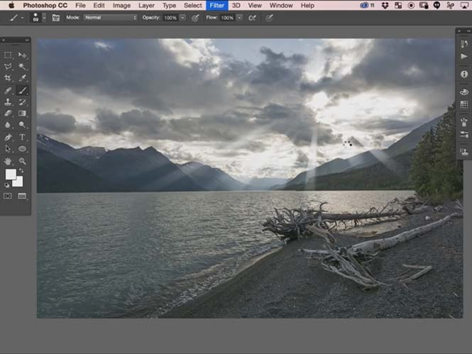 """Πως να δημιουργήσετε """"Light Rays"""" ανάμεσα από τα σύννεφα για εντυπωσιακές φωτογραφίες"""