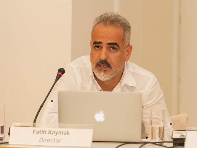 "Fatih Kaymak, Σκηνοθέτης του ντοκιμαντέρ ""The Eye of Istanbul"""
