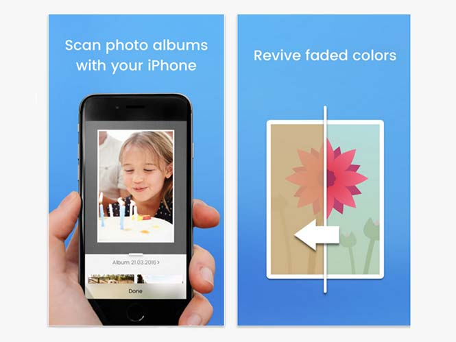 Unfade, σκανάρετε και διορθώστε τα χρώματα σε παλιές φωτογραφίες με το iPhone