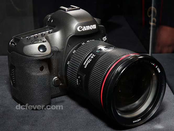 Η  Canon επιδεικνύει την επερχόμενη DSLR μηχανή της στα 120 megapixels