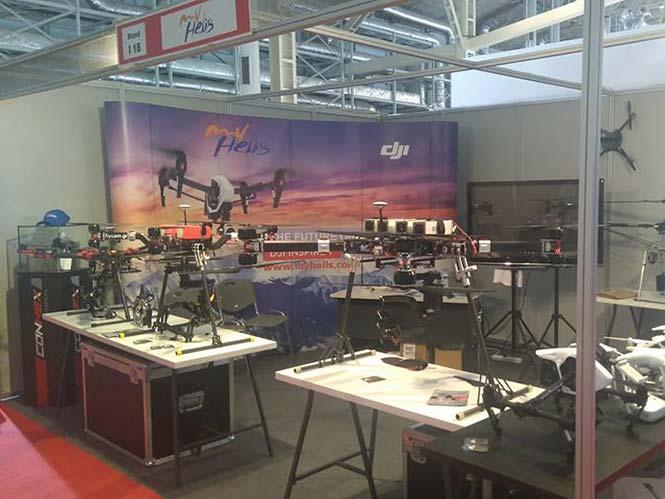 My Helis: δείτε από κοντά το DJI Phantom 4 στη Drone Expo 2016
