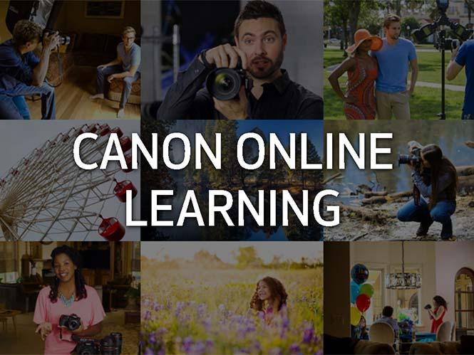 Η Canon παρουσιάζει online μαθήματα φωτογραφίας/video επί πληρωμή