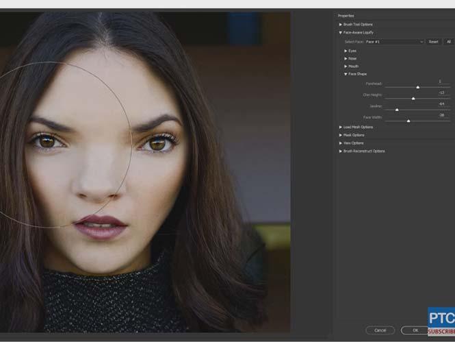 Adobe Photoshop: Δείτε πως λειτουργεί η νέα λειτουργία Face-Aware Liquify