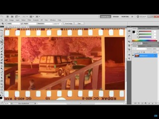 Film Negative Adobe Photoshop
