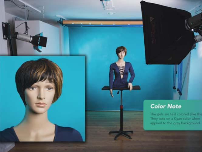 Δείτε σε video γιατί το γκρι φόντο είναι η καλύτερη επιλογή για λήψη πορτραίτου
