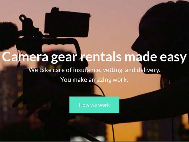 KITSPLIT, μία ιστοσελίδα ενοικίασης εξοπλισμού ανάμεσα σε φωτογράφους