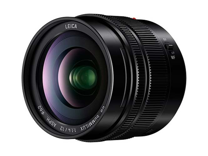 H Panasonic παρουσιάζει τον Leica DG SUMMILUX 12mm / F1.4 ASPH
