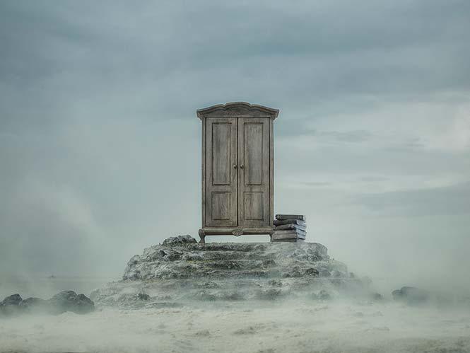 Ο Felix Hernandez δημιουργεί ονειρικές εικόνες με μινιατούρες και το φυσικό περιβάλλον