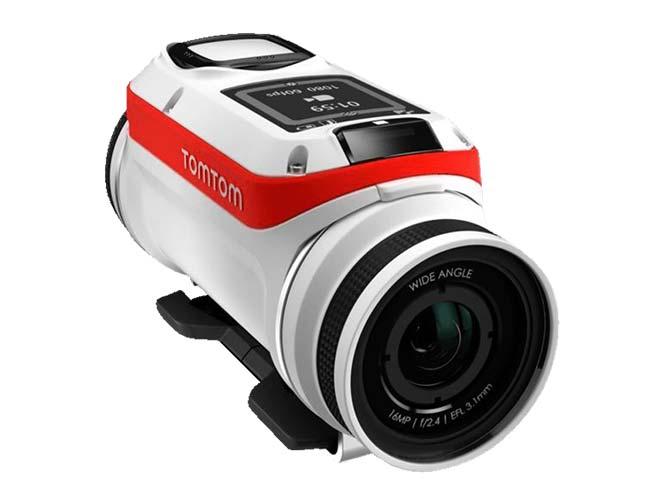 TomTom Bandit Action Cam, διορθώνει αυτόματα τα χρώματα στις υποβρύχιες λήψεις