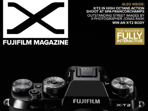 Fujifilm magazine