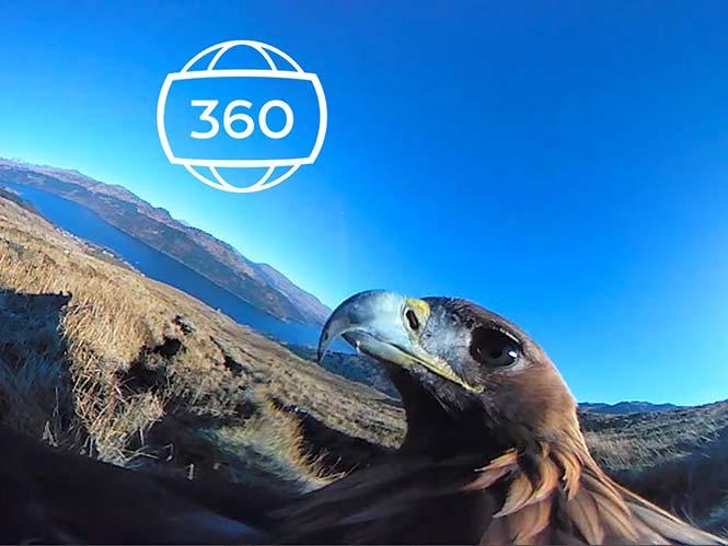 Πετάξτε με ένα αετό και δείτε τον κόσμο σε 360 μοίρες