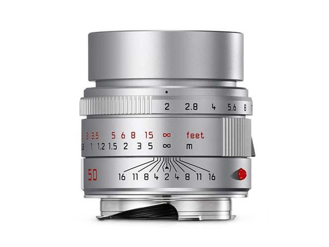 Leica APO-SUMMICRON-M 50mm F2 ASPH: παρουσιάστηκε η ασημί του έκδοση
