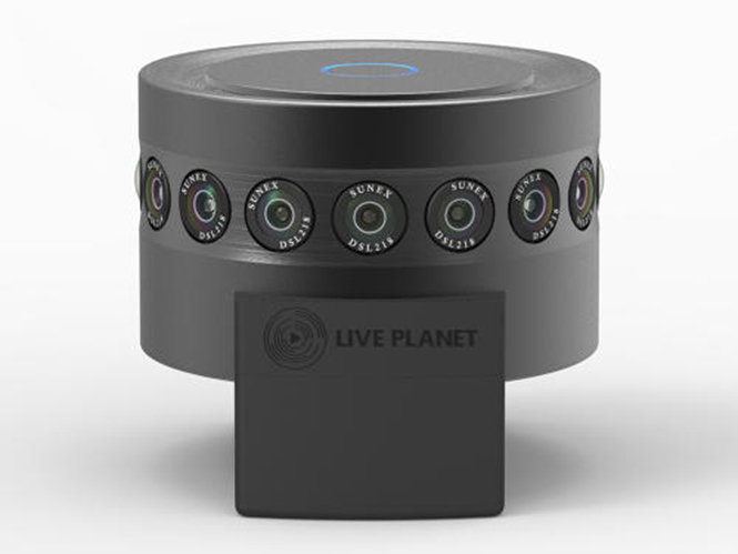 Live Planet: Μία κάμερα 360 μοιρών αξίας 10.000 δολαρίων