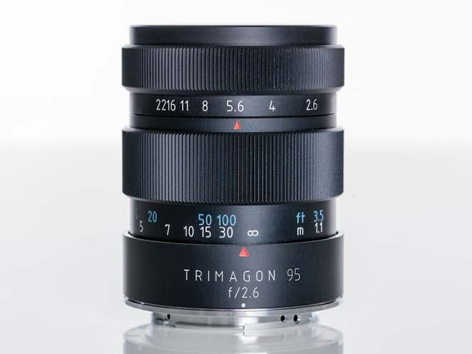Meyer-Optik Trimagon f2.6/95, νέος φακός με διάφραγμα 15 λεπίδων