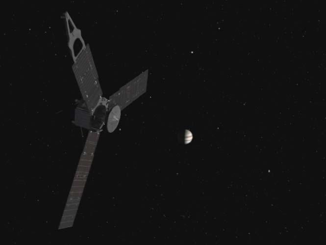 NASA Juno:  Επικό Time Lapse από τα φεγγάρια του Δία