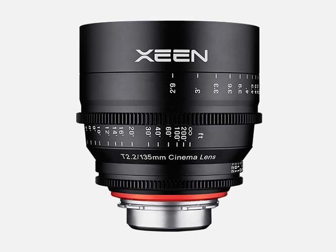 Ανακοινώθηκε ο κινηματογραφικός φακός Samyang XEEN 135mm T2.2