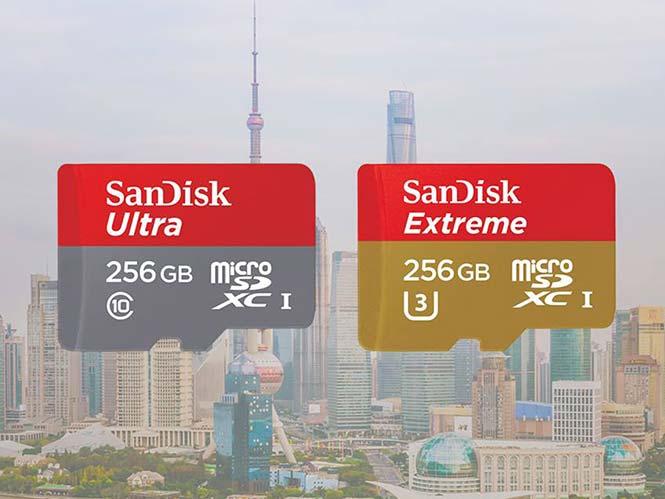 SanDisk: Παρουσίασε τη πιο γρήγορη microSD κάρτα μνήμης στον κόσμο