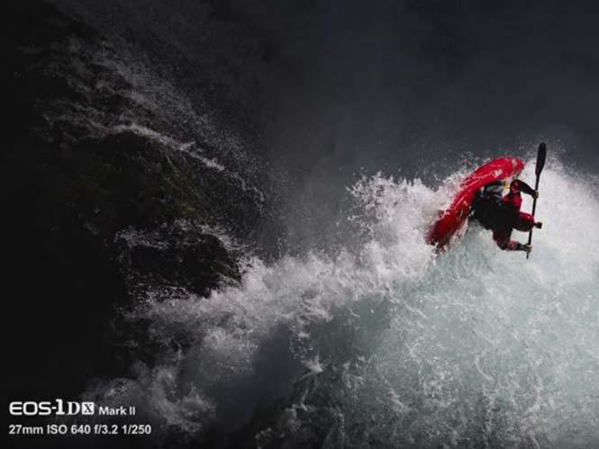 The Shot: Φωτογραφίζοντας extreme sports με Canon flashes προσαρμοσμένα σε drone