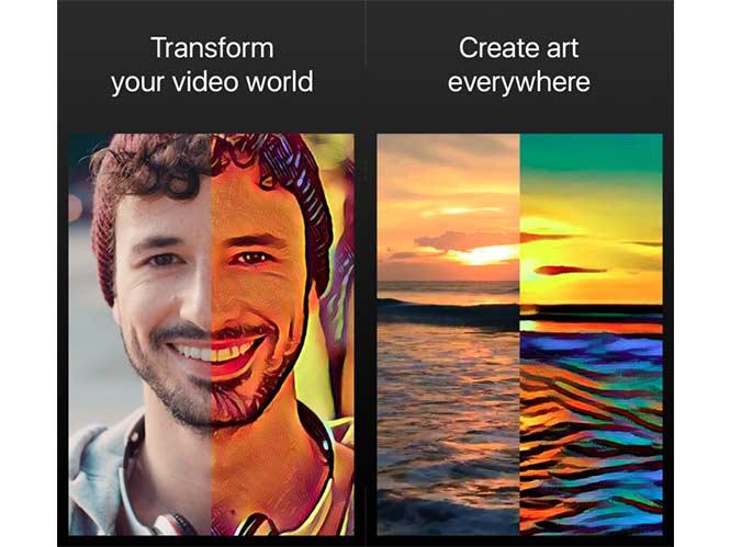 Artisto: Μετατρέψτε τα video σας σε έργα τέχνης