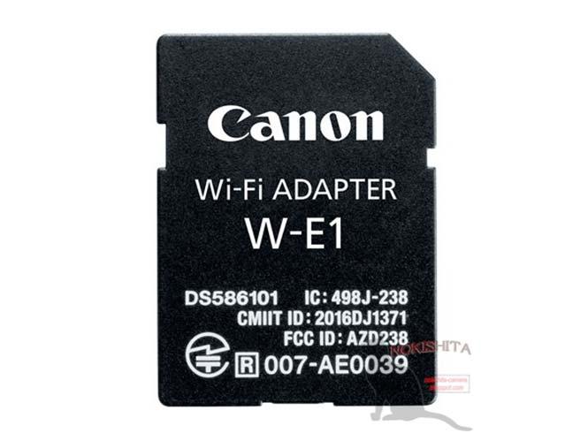 Η Canon θα παρουσιάσει adapter WiFi σε σχέδιο SD κάρτας μνήμης