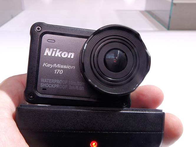 Hands-On με τη νέα action camera Nikon Keymission 170