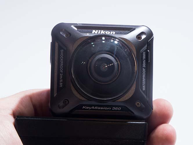 Nikon KeyMission 360, hands-on από τη Photokina 2016