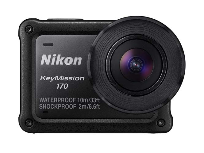 Νέο Firmware για την action camera Nikon KeyMission 170