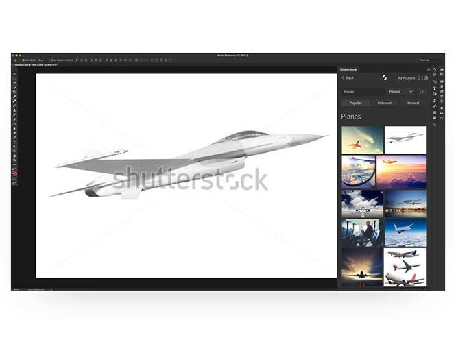 To ShutterStock έφτιαξε δικό του plugin για το Photoshop