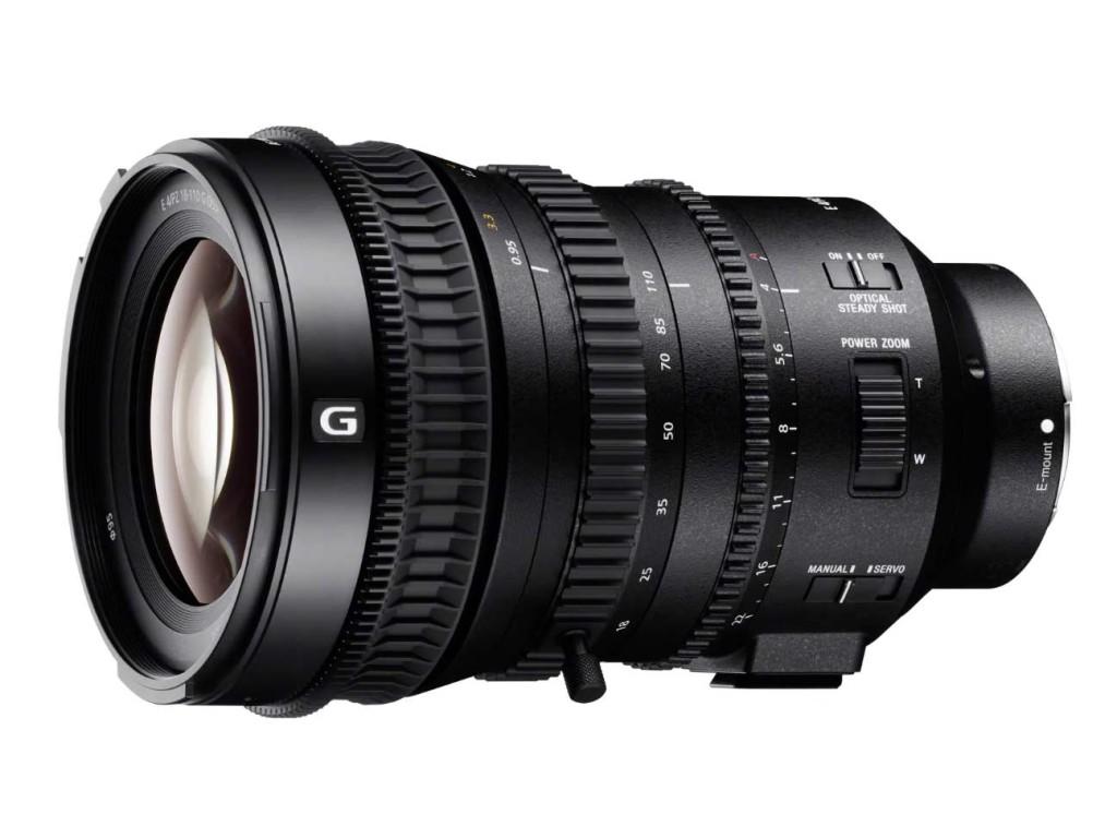 Νέος Sony 18-110mm για λήψη video με Super 35mm και APS-C μηχανές