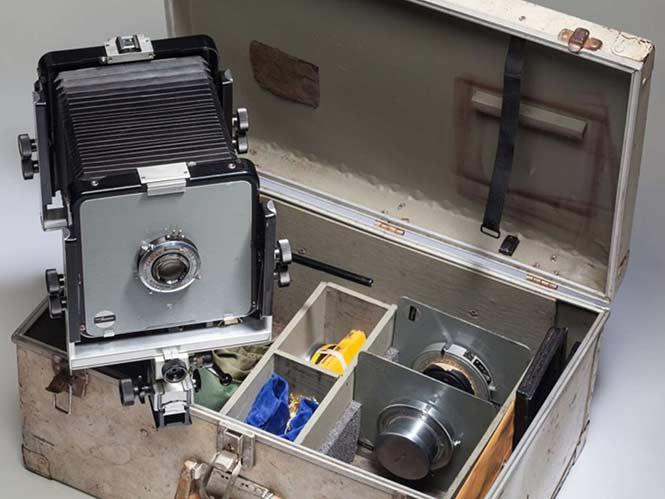 Δημοπρατείται μία μηχανή μεγάλου φορμά του Ansel Adams με Α.Τ. 35.000 δολάρια