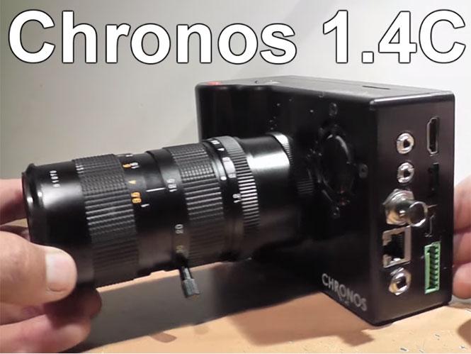 Chronos 1.4C, μία κάμερα των 2.500 δολαρίων για high speed λήψεις στα 21.650 fps