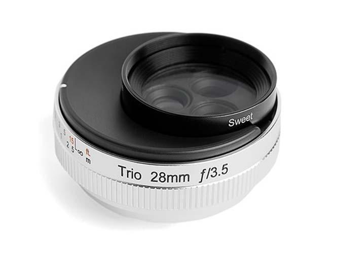 LensBaby Trio 28: Tρείς φακοί σε έναν, αποκλειστικά για mirrorless μηχανές
