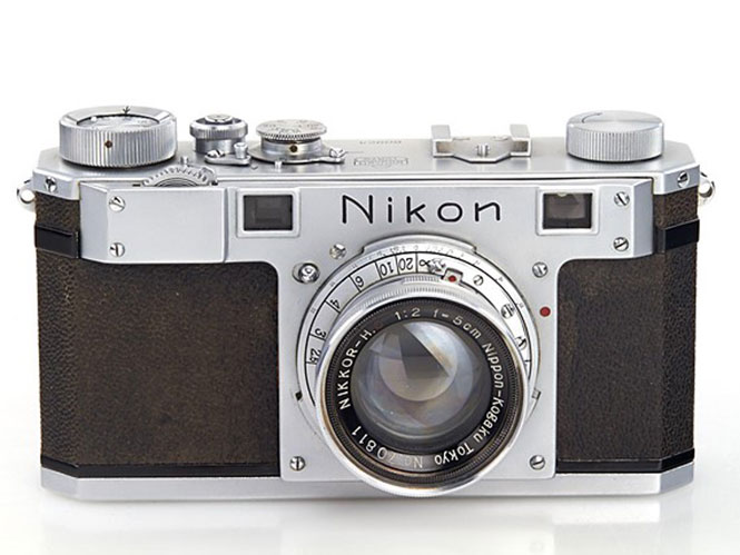 Η πρώτη μηχανή που κατασκεύασε η Nikon βγαίνει σε δημοπρασία