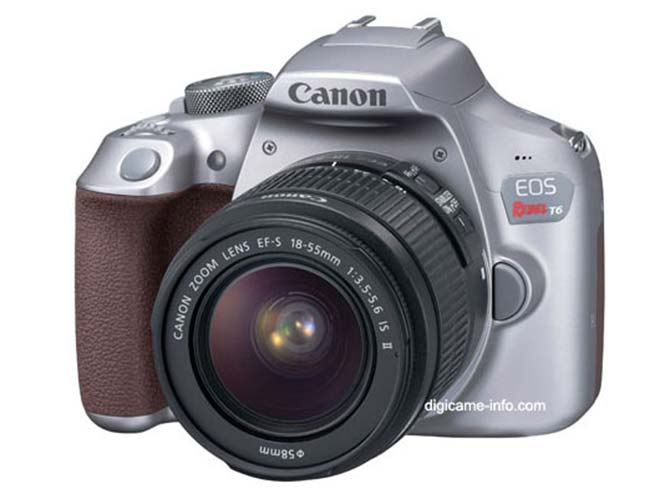 Έρχεται η Canon EOS 1300D σε νέο χρώμα;