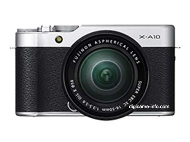 Διέρρευσαν οι πρώτες φωτογραφίες της Fujifilm X-A10