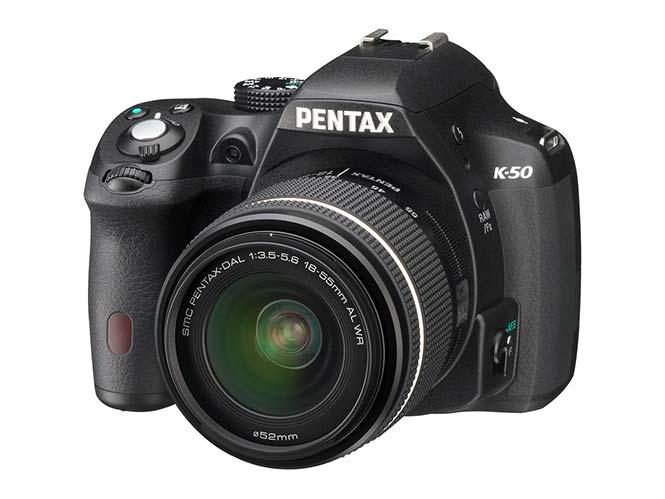 Νέο Firmware για τη Pentax K-50