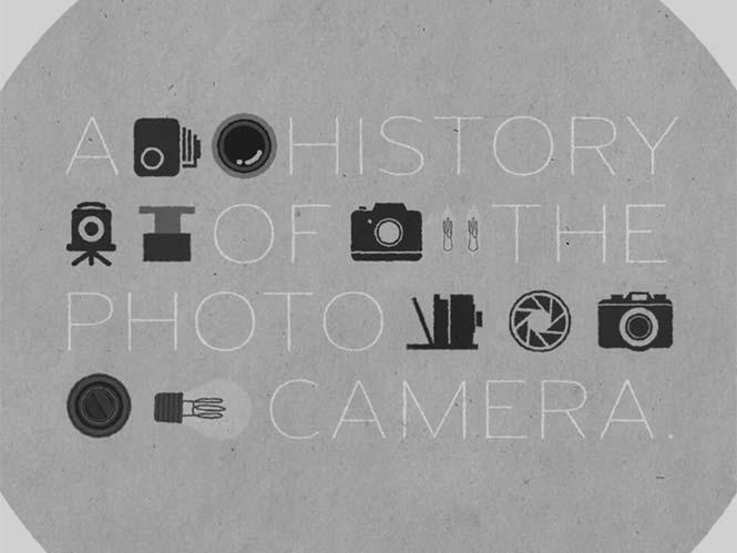 Η εξέλιξη της φωτογραφικής μηχανής σε animation video