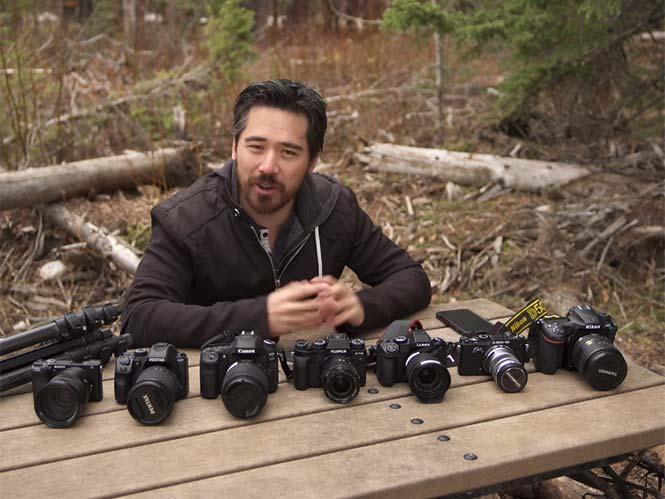 Συγκριτικό ΤΕΣΤ ανάμεσα σε Canon, Nikon, Sony, Fujifilm, Pentax, Olympus, Panasonic και iPhone