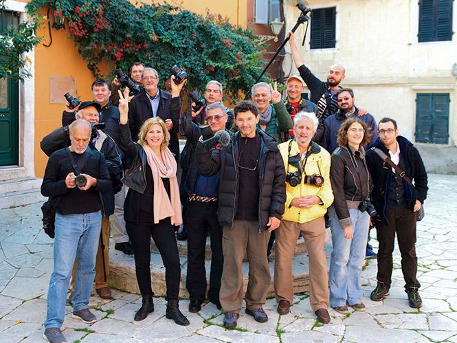 Φωτογραφική Λέσχη Κέρκυρας: Σεμινάριο πορτραίτου και παρουσίαση στην ΕΤ3