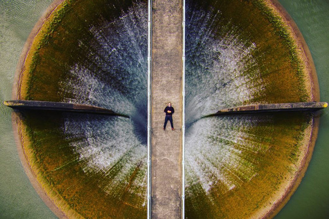 Huia dam New Zealand by Brendon Dixon