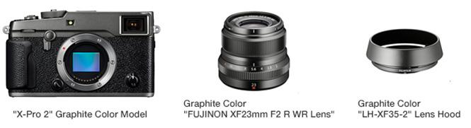 Fujifilm X-Pro2 Graphite Edition
